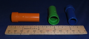 Plastic Tube Bead, 1-3/4