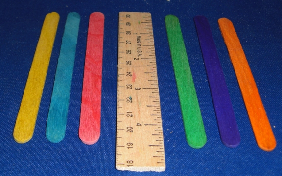 UNDRILLED Small Craft Sticks (50 pcs)