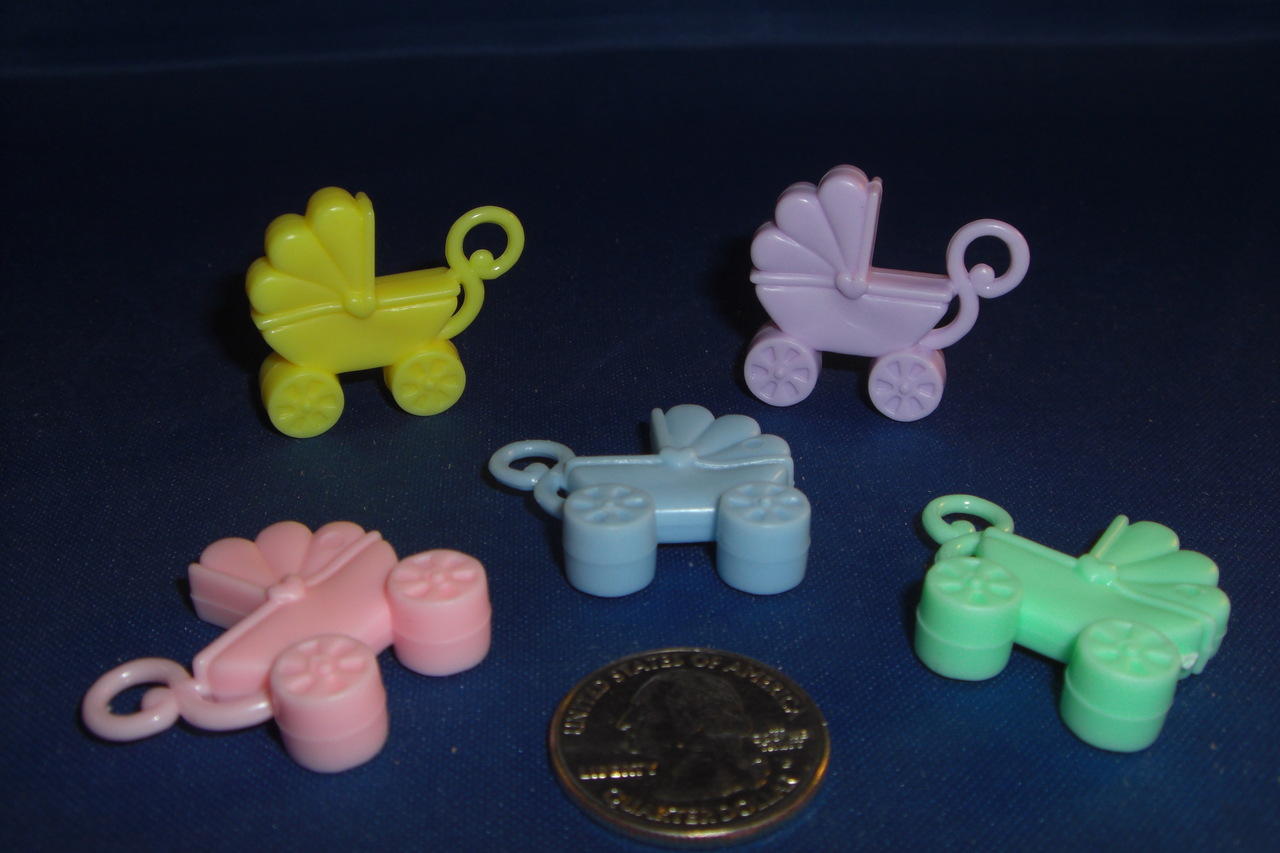 Pastel Baby Carriages (ea)