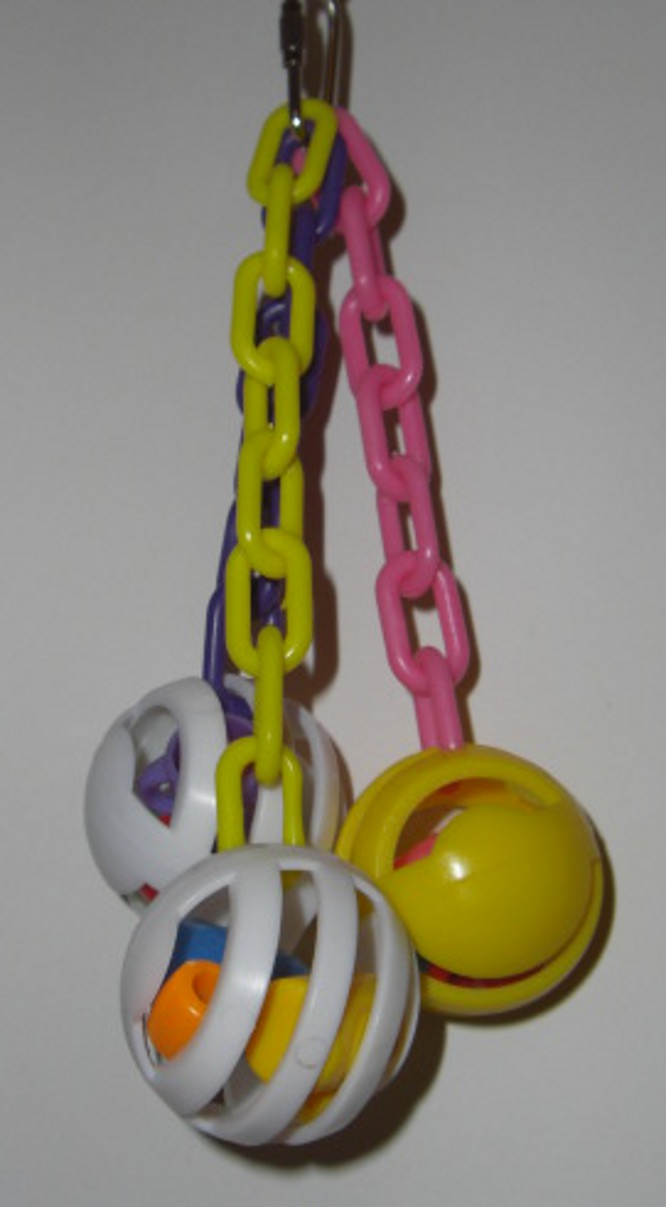 Small Hanging Busy Ball Toy
