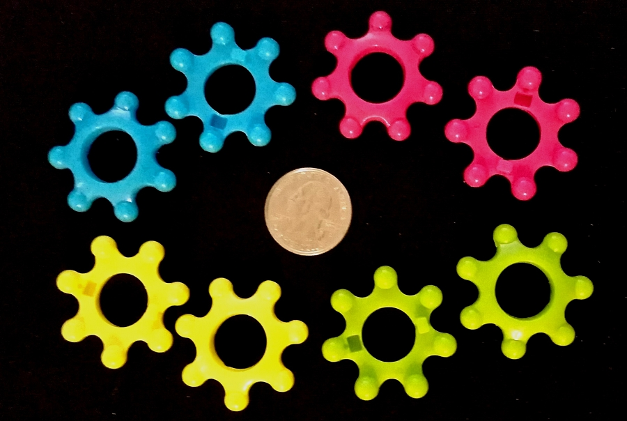 Plastic Cog Gear BLUE ONLY