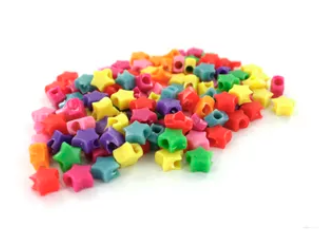 Star Pony Beads (oz)
