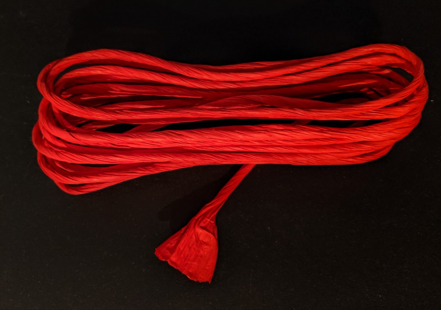 Red Paper Rope 6 Yards