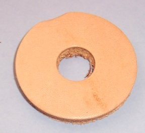 Leather Circle, 1-5/8""