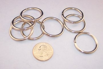 Nickel Plated O-Ring, 1""