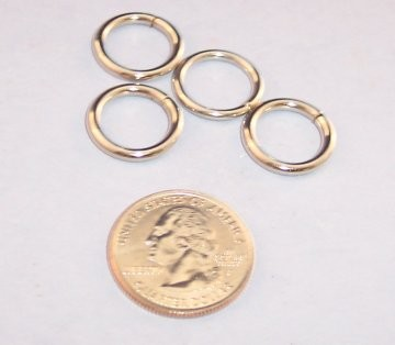 Nickel Plated O-Ring, 1/2""