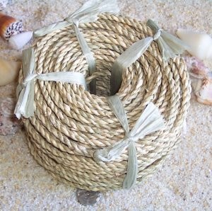 "9/64"" Seagrass Rope (coil)"