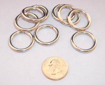 Stainless Steel O-Ring, 19mm