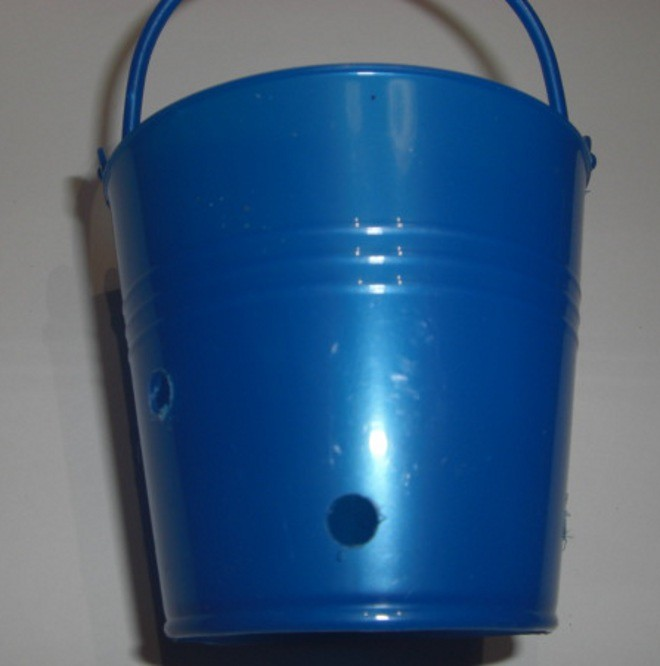 Medium Plastic Buckets with 5 Holes (ea)