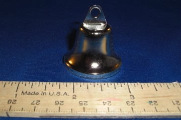 Stainless Steel Liberty Bell, 32mm