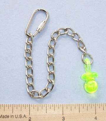 "1"" Pacifier Chain Base"